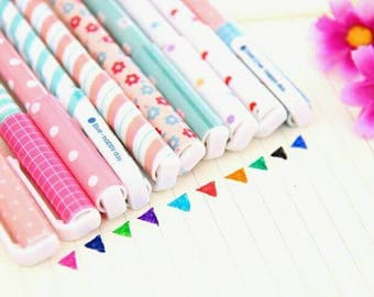 Colourful fun cute ink pens - multiple colours available