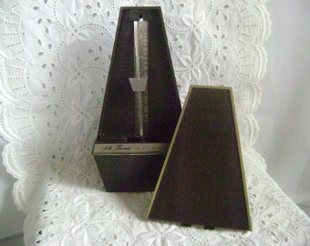 Vintage Metronome, Seth Thomas, Conductor #1104 (E500-000) Wind Up, Working Condition