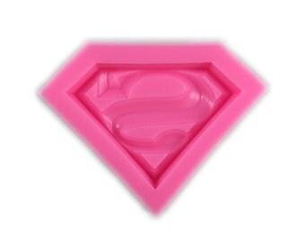 Superman Chocolate / Fondant Mold