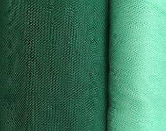 Ethically sourced Green tulle