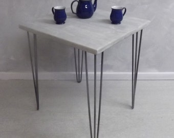Small dining/breakfast table or desk with industrial legs