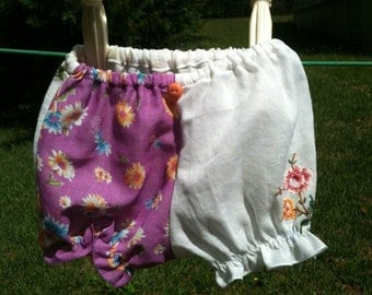 Re-purposed Hanky bloomers