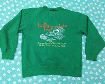 vintage BETTY BOOP SWEATSHIRT size m-L