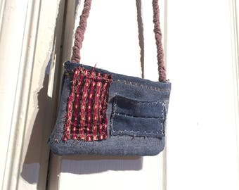 Patchwork Denim hippy hand bag!