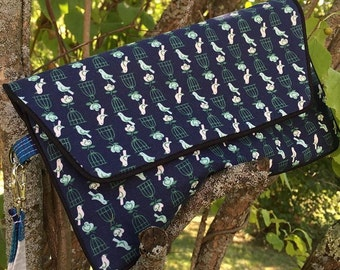 Bluebird Clutch Bag