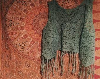 Fantasy Forest Crochet Vest