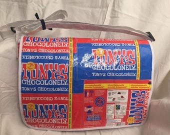 Massenger-Bag shoulder bag Upcycling-Tony's Chocolonely