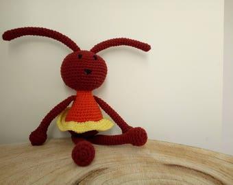 Doudou rabbit amigurumi crochet
