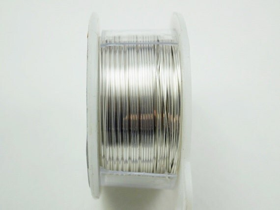24 gauge craft wire silver craft wire jewelry wire hobby for 24 gauge craft wire