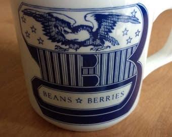 Carrigaline Pottery Beans and Berries Mug Ireland