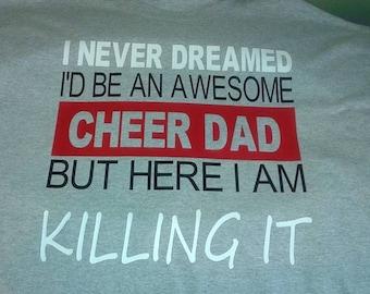 Cheer/sports dad