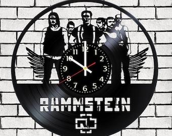 Wall clock Rammstein, Rammstein poster, Rammstein decal