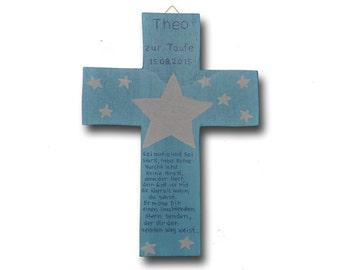 """Guardian Angel cross """"Star"""""""
