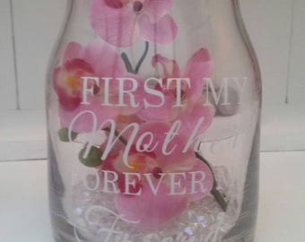 Personalised Flower Jar