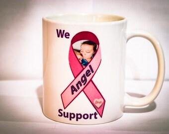 Angel Breast Cancer Fundraiser Mug