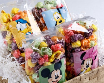 Mickey and Friends Popcorn Party Favor Bags