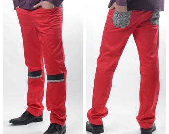 Commuter Red Pant