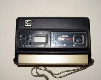 Kodak Disc camera 8000 Vintage With wrist strap