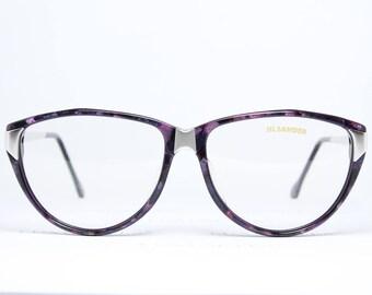 Purple Eyeglasses Etsy