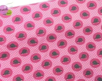 Jersey Moles pink circles points