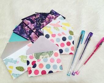 JW stationary, gift card envelopes, contribution envelopes, contact card envelopes, mini envelopes