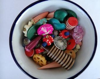 vintage buttons children