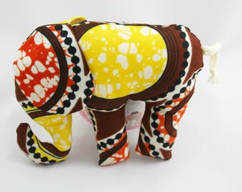 African toy Elephant, childrens toy,