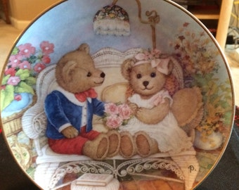 Franklin mint First Anniversary Plate