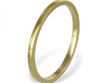 Yellow Gold Band (8ct yellow gold/1.00grams)