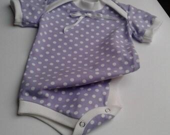 Dots baby onesie - Babysuit size 68