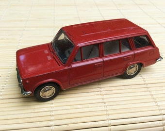 Collectibles car Scale model car Soviet vintage rare toy car Gift for kids Gift for men Gift for Boys Old car VAZ 2102 1:43 scale diecast