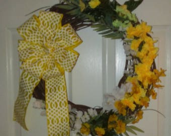 Bright Sunshine Wreath