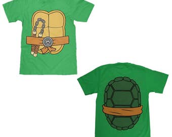 Teenage Mutant Ninja Turtles Michaelangelo Shell Shirt