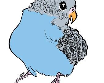 Sing Lil Blue Bird