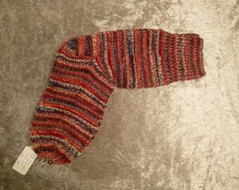 Woolen handknitted sock