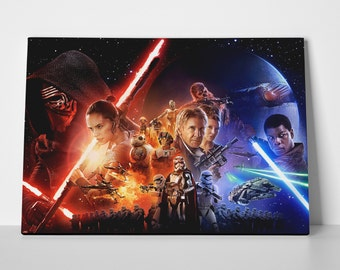 Star Wars Force Limited Edition 24x36 Poster | Star Wars Force Canvas