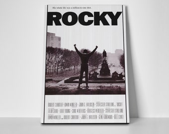 Rocky The Movie Limited Edition 24x36 Poster | Rocky The Movie Canvas