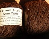 Dark Brown Jacob Aran hom...