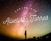 Custom Stones for Alivelisse Torres