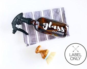 Custom Label for Trigger Spray Bottle ~ White ~ Essential Oil Bottle Label ~ DIY ~ Oil Labels