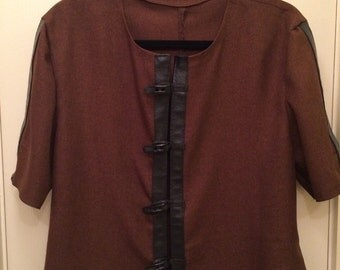 Mens brown Mideaval tunic