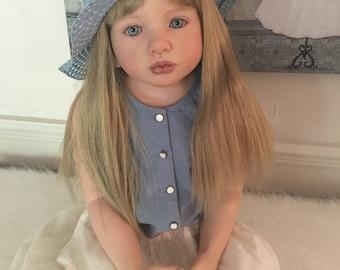 "CUSTOM ORDER Reborn Toddler Girl 40"" Aleonka by Natalie Blick You Choose"