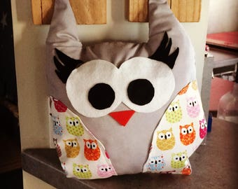OWL plush fabric and felt