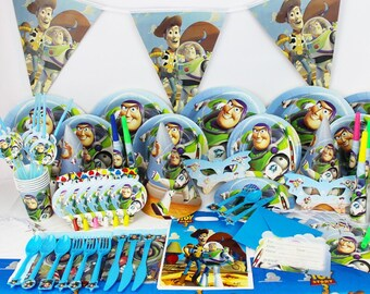 Toy story Birthday Party Supplies tableware set