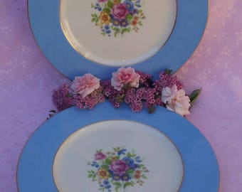 Rare Pattern Lenox Plates 4 Dinner 4 Luncheon