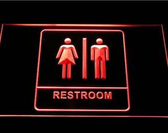 Bathroom Vanity Lights Red bathroom lighting   etsy