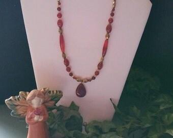 Stone Medicine Jewelry N116 Carnelian