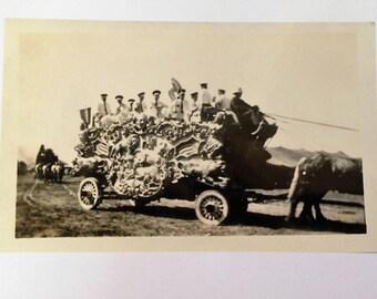 Cole Brothers Circus - Band Wagon - 1937