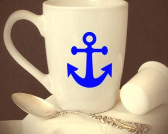 anchor/mug/wine/glass/military/sea/ship/boat/cruise/water/sail/sailor/navy