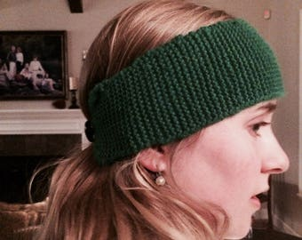 Knit head warmer